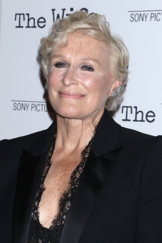 GLENN CLOSE at The Wife Screening in New York 07/26/2018