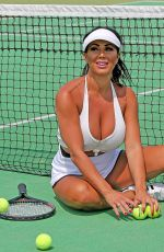 GRACE J TEAL on Tennis Inspired Photoshoot in Southend 07/08/2018