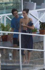 GRACE VAN PATTEN and Nat Wolff at Hotel Regina Isabella in Ischia 07/22/2018