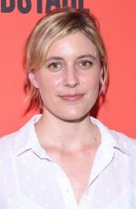 GRETA GERWIG at Mary Page Marlowe Off-Broadway Opening Night in New York 07/12/2018