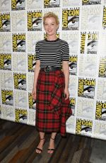 GRETCHEN MOL at Nightflyers Panel at Comic-con 2018 in San Diego 07/19/2018