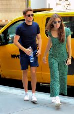 HAILEE STEINFELD and Niall Horan Shopping at Saks Fifth Avenue in New York 07/16/018