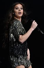 HAILEE STEINFELD Performs at Radio City Music Hall in New York 07/16/2018