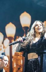 HAILEE STEINFELD Performs at The Voicenotes Tour at BB&T Pavilion in Camden 07/24/2018