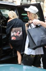 HAILEY BALDWIN and Justin Bieber Out in New York 07/27/2018