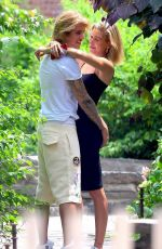 HAILEY BALDWIN and Justin Bieber Out Kissing in New York 07/01/2018