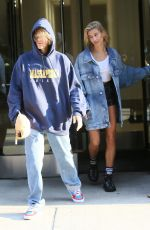 HAILEY BALDWIN and Justin Bieber Shopping at Whole Foods in New York 07/28/2018