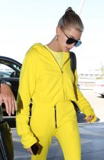 HAILEY BALDWIN at LAX Airport in Los Angeles 07/23/2018
