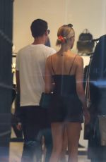 HAILEY CLAUSON and Jullien Herrera Out Shopping in New York 07/07/2018