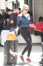 HAILEY CLAUSON at Los Angeles International Airport 07/21/2018