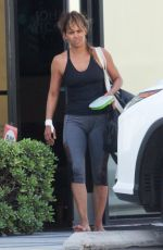HALLE BERRY Leaves a Gym in Los Angeles 07/20/2018