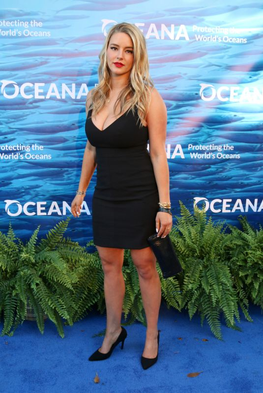HASSIE HARRISON at Oceana Seachange Summer Party in Laguna Niguel 07/21/2018