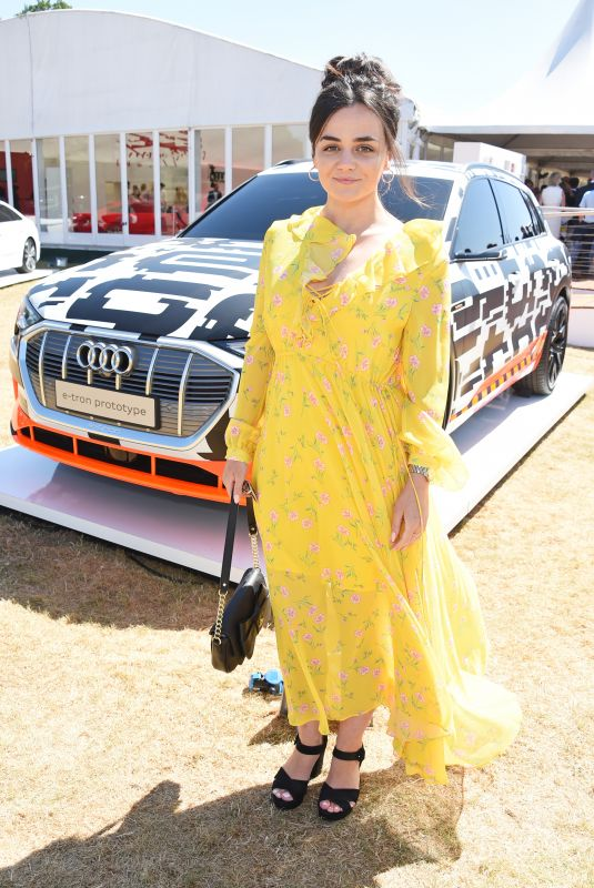 HAYLLEY SQUIRES at Audi Polo Challenge at Coworth Park Polo Club 07/01/2018