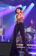 HEATHER BARON-GRACIE Performs at Standon Calling in Hertfordshire 07/28/2018