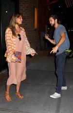 HEIDI KLUM and Tom Kaulitz Arrives at Their Hotel in New York 07/06/2018