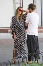 HEIDI KLUM and Tom Kaulitz Out in Los Angeles 07/02/2018