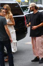 HEIDI KLUM Out in New York 04/07/2018