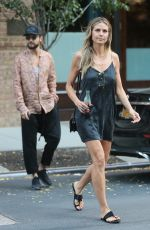 HEIDI KLUM Out in New York 07/05/2018