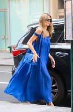 HEIDI KLUM Out in New York 07/20/2018