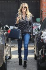 HEIDI KLUM Out Shopping in Beverly Hills 07/18/2018