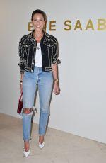 HELENA BORDON at Elie Saab Show at Paris Fashion Week 03/03/2018