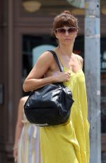 HELENA CHRISTENSEN Out and About in New York 07/27/2018