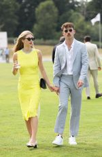 HERMIONE CORFIELD at Audi Polo Challenge at Coworth Park Polo Club 07/01/2018