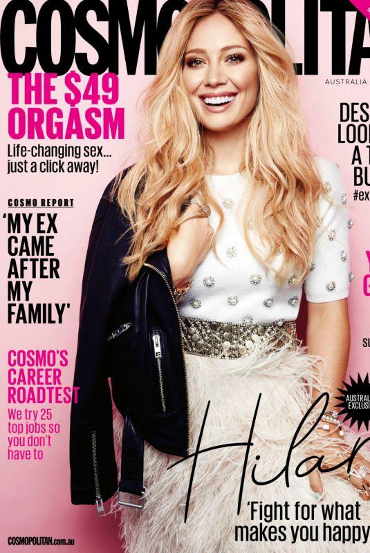 HILARY DUFF in Cosmopolitan Magazine, Australia June 2018