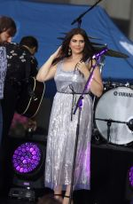 HILLARY SCOTT Performing at Today Show in New York 07/06/2018