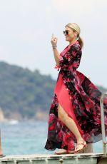 HOFIT GOLAN Arrives at Club 55 in Saint Tropez 07/22/2018