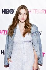HOLLAND RODEN at Wild Nights with Emily Screening at Outfest Los Angeles LGBT Film Festival in Hollywood 07/21/2018