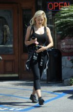 HOLLY MADISON Out Shopping in Los Angeles 06/30/2018