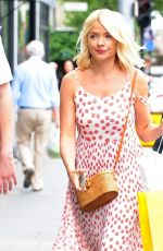 HOLLY WILLOGHBY at Ivy Chelsea Garden in London 07/10/2018