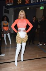 IGGY AZALEA at 50k Charity Challenge Celebrity Basketball Game in Westwood 07/17/2018