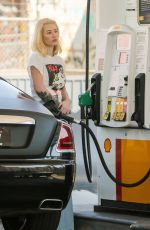 IGGY AZALEA at a Gas Station in Los Angeles 07/27/2018