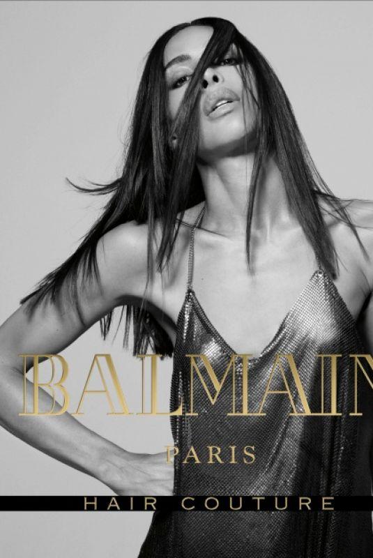 INES RAU for Balmain Campaign
