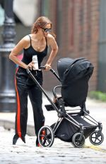 IRINA SHAYK Out and About in New York 07/27/2018