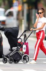 IRINA SHAYK Out in New York 07/28/2018
