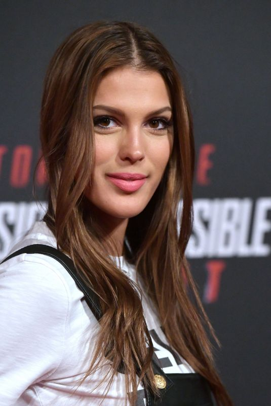 IRIS MITTENAERE at Mission: Impossible – Fallout Premiere in Paris 07/12/2018