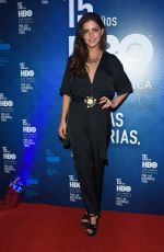 ISABEL BURR at HBO Latin America 15th Anniversary in Mexico City 07/18/2018