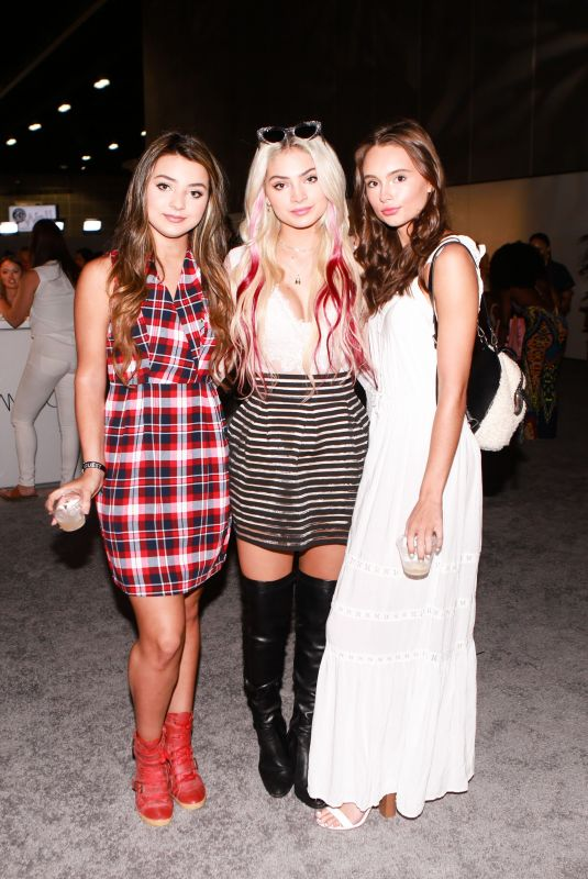 ISABELLA and CARRINGTON DURHAM and MAKENZIE ROONEY at Los Angeles Beautycon Festival 07/14/2018