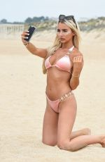 ISABELLE WARBURTON in Bikini on the Beach Algarve 07/03/2018