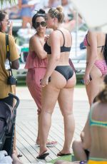 ISKRA LAWRENCE in Bikini at a Beach in Miami 07/12/2018