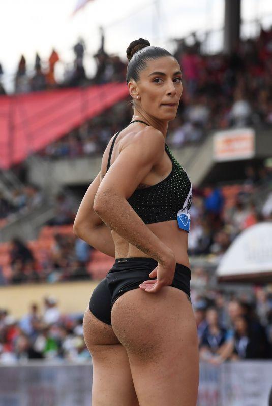 IVANA SPANOVIC at IAAF Diamond League Meeting in Lausanne 07/05/2018