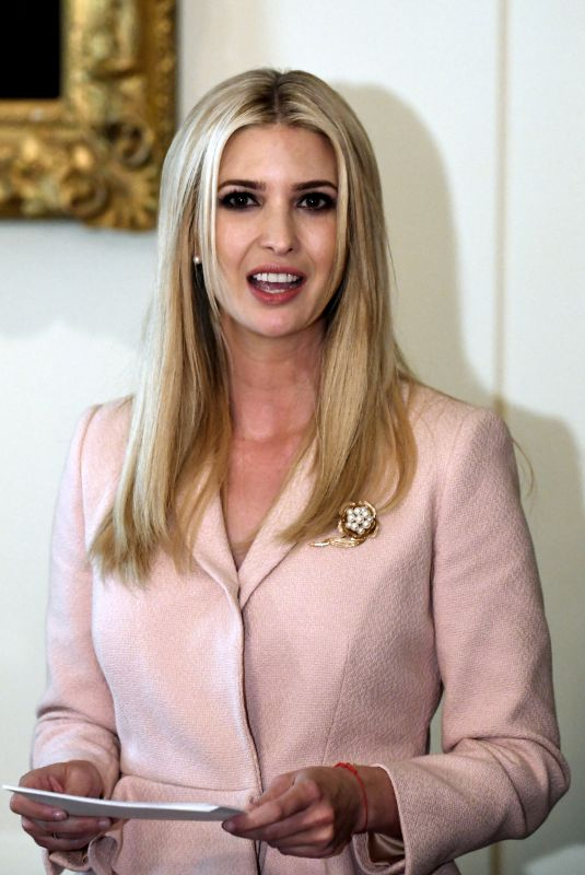 IVANKA TRUMP at White House in Washington, D.C. 07/18/2018