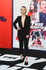 IVANNA SAKHNO at The Spy Who Dumped Me Premiere in Los Angeles 07/25/2018