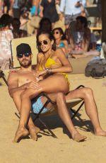 IZABEL GOULART in Bikini at a Beach on Mykonos 07/13/2018