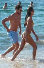 IZABEL GOULART in Bikini at a Beach on Mykonos 07/13/2018