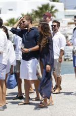 IZABEL GOULART Out and About in Mykonos 07/08/2018