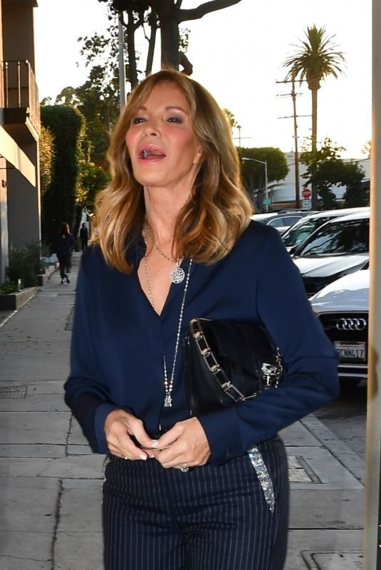 JACLYN SMITH Out for Dinner at Craig's in West Hollywood 07/28/2018